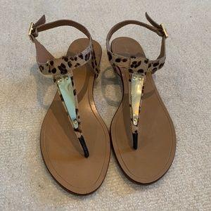 Chic Leopard Sandals